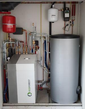 Ecoforest Warmtepomp Met Boiler